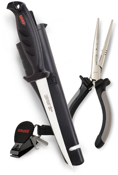Набор: плоскогубцы 16 см, нож 136, кусачки (артикул RTC-6P136C)
